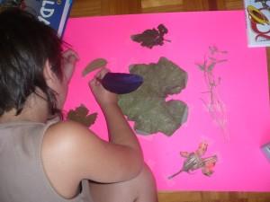 haciendo el cuadro y escribiendo 11-9-2014